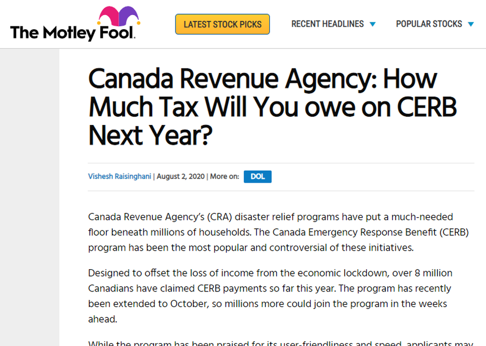 Canada-Revenue-Agency-How-Much-Tax-Will-You-owe-on-CERB-Next-Year-The-Motley-Fool-Canada.png